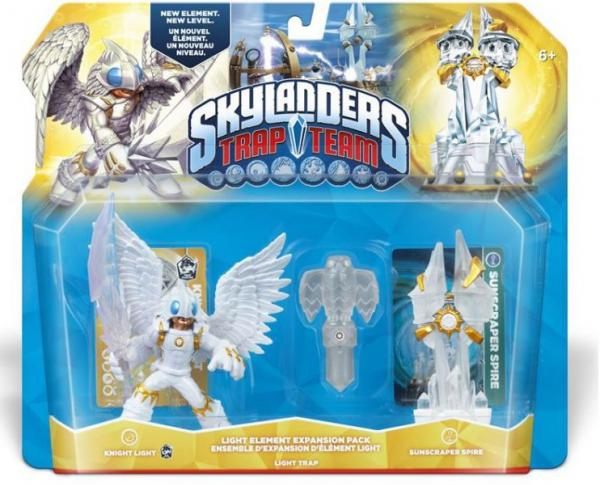 Skylanders Trap Team - Elemental Pack 2 (Light Night + Sunscraper Spire + Light Hawk)