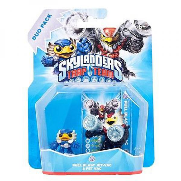 Skylanders Trap Team - Double Pack (Jet-Vac + Pet-Vac)