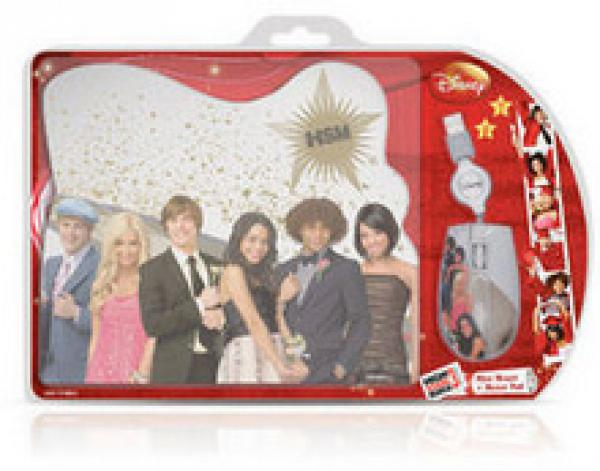 High School Musical Optical Mouse and Mouse Pad