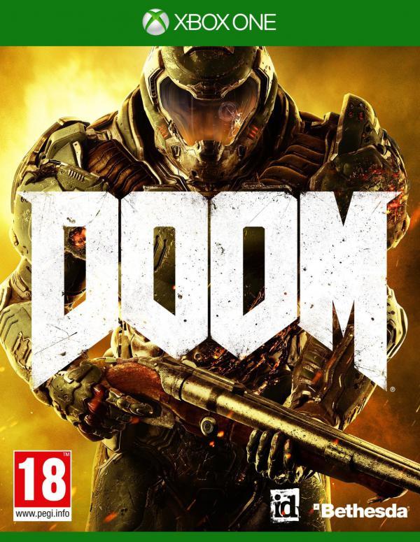 PS4 Doom 2016 D1